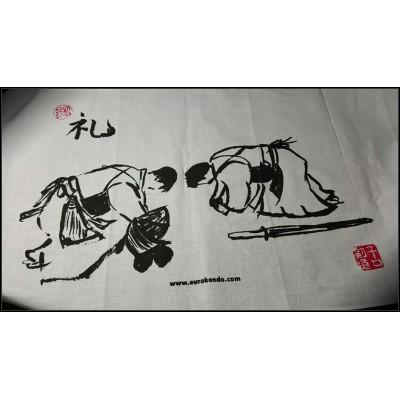 REI 礼 (Kendo with Brush)..