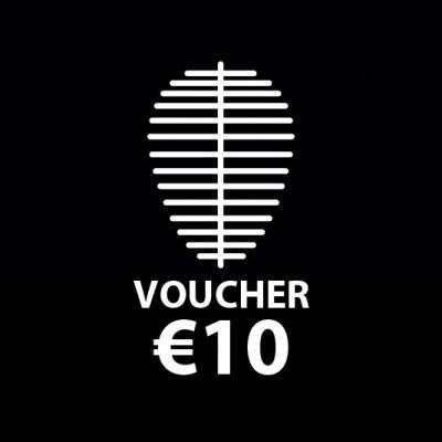 Voucher €10..