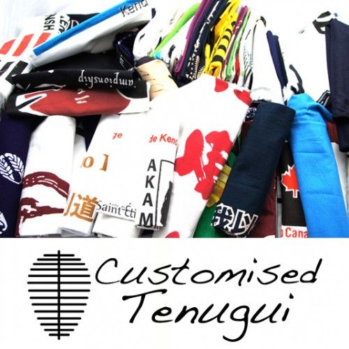 Customised Tenugui