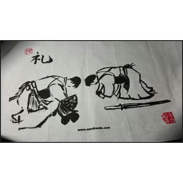 REI 礼 (Kendo with Brush)