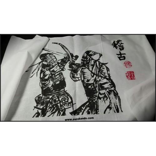 Keiko 稽古 (Kendo with Brush)