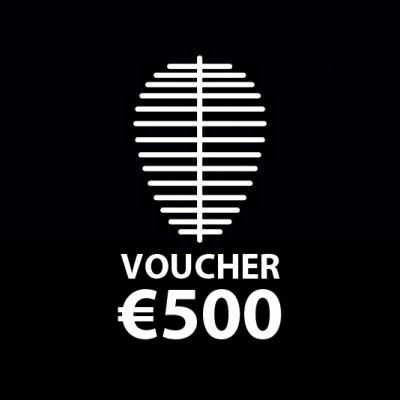 Voucher €500..